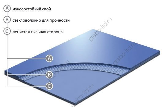 Балетный линолеум Grabo Unifloor 030 I